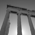 Erechtheion on the Acropolis by Alex Rentzis