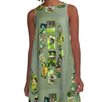 Oh Butterflies  A-Line Dress
