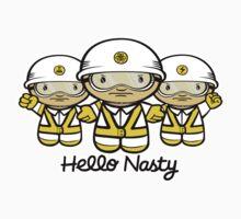Hello Nasty One Piece - Long Sleeve