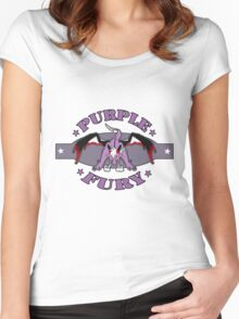 Purple Fury Women's Fitted Scoop T-Shirt