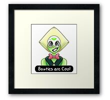 Peridot - Bowties are Cool Framed Print