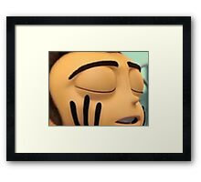 its hip to bee square barry b benson Framed Print