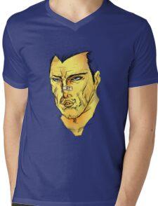 Sam T Mens V-Neck T-Shirt