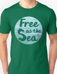 Free as the Sea Unisex T-Shirt