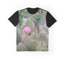 Pink Cactus Graphic T-Shirt