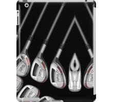 set of golf clubs iPad Case/Skin