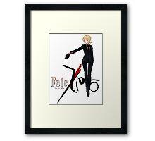 Fate Zero Framed Print