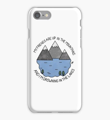 Tigers Jaw I Saw Water iPhone Case/Skin