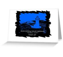 South Solitary Island - 1879 Greeting Card