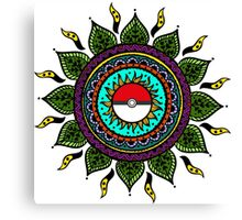 Pokemon Tribal Canvas Print