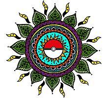 Pokemon Tribal Photographic Print