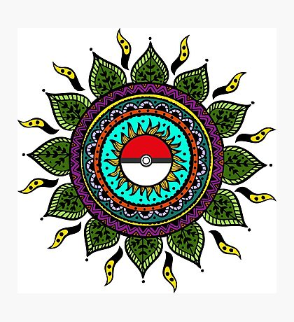 Pokemon Tribal Photographic Print