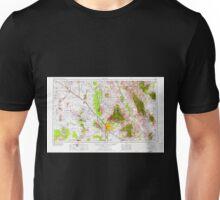 USGS TOPO Map Arizona AZ Tucson 315610 1956 250000 Unisex T-Shirt