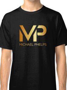 Michael Phelps Gold Logo Classic T-Shirt