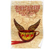 What my Coffee says to me - September 15, 2012 Poster