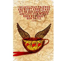 What my Coffee says to me - September 15, 2012 Photographic Print