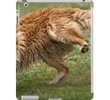 Cornering at Speed - Not an Easy Task iPad Case/Skin