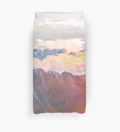 Mountain Glory #redbubble #lifestyle #tech Duvet Cover