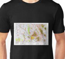USGS TOPO Map Arizona AZ Tucson 315611 1956 250000 Unisex T-Shirt