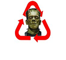 FRANKENSTEIN - MADE OF 100% RECYCLED HUMAN BODY PARTS Photographic Print