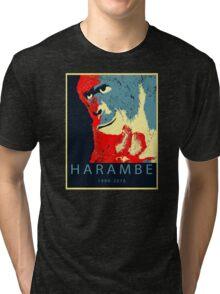 Harambe Gorilla Tri-blend T-Shirt