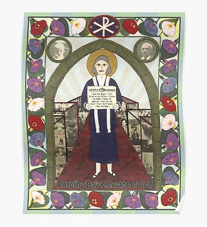 Dorothy Day Icon Poster