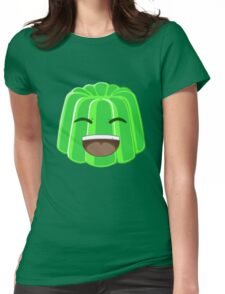 Green Jelly Youtuber vlog Womens Fitted T-Shirt