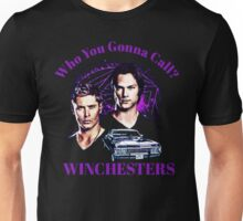 supernatural sam dean moose squirel jensen jared j2 Unisex T-Shirt