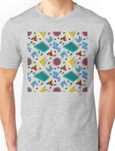 Memphis Retro Style Unisex T-Shirt