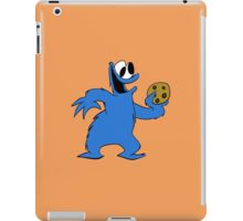 Cookie Monster with cookie iPad Case/Skin