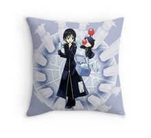 Xion and Moogle Kingdom Hearts 358/2 days Throw Pillow