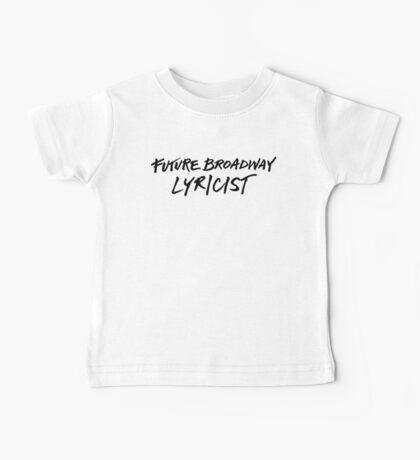 Future Broadway Lyricist Baby Tee