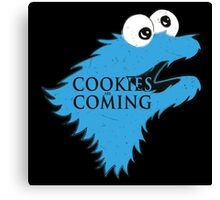 Cookies Are Comming Canvas Print