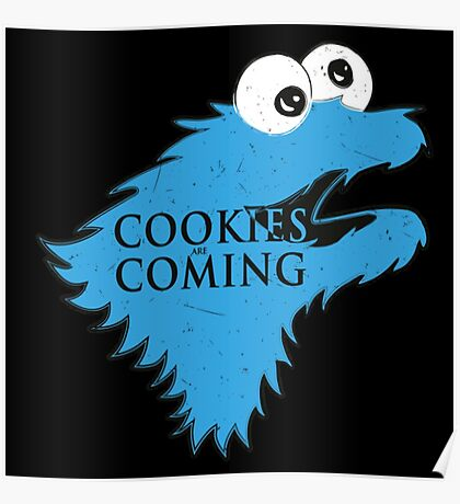 Cookies Are Comming Poster