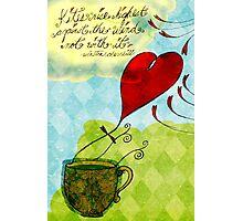 What my #Tea says to me January 18, 2013 Photographic Print