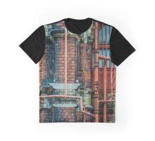 Pipe Art Graphic T-Shirt