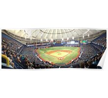 Tampa Bay Rays Tropicana Field Poster