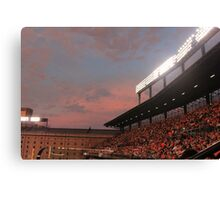 Baltimore Orioles Stadium Canvas Print