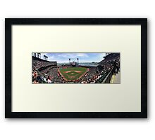 AT&T Park SF Giants Panorama Framed Print