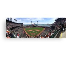 AT&T Park SF Giants Panorama Canvas Print