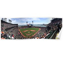 AT&T Park SF Giants Panorama Poster