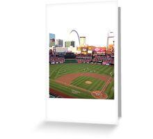 St Louis Cardinals Busch Stadium Greeting Card