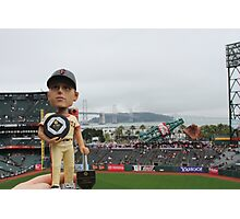 Buster Posey MVP at AT&T Park Photographic Print