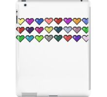 24 hearts iPad Case/Skin