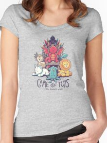 Game of Toys Women's Fitted Scoop T-Shirt