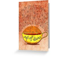 What my #Coffee says to me January 4, 2013 Greeting Card