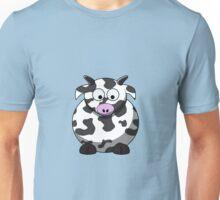Cartoon Cow Unisex T-Shirt