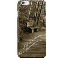 Life is a journey iPhone Case/Skin