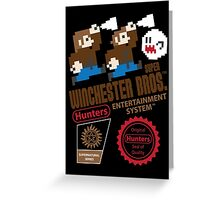 Super Winchester Bros. Greeting Card