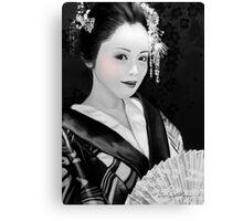 Blossom Geisha  Canvas Print